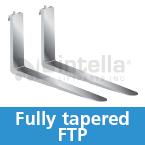 fully tapered ftp forklift forks intella liftparts