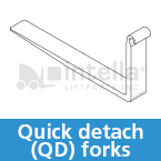 quick detach forklift forks intella liftparts