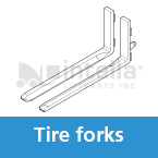 tire forklift forks intella liftparts
