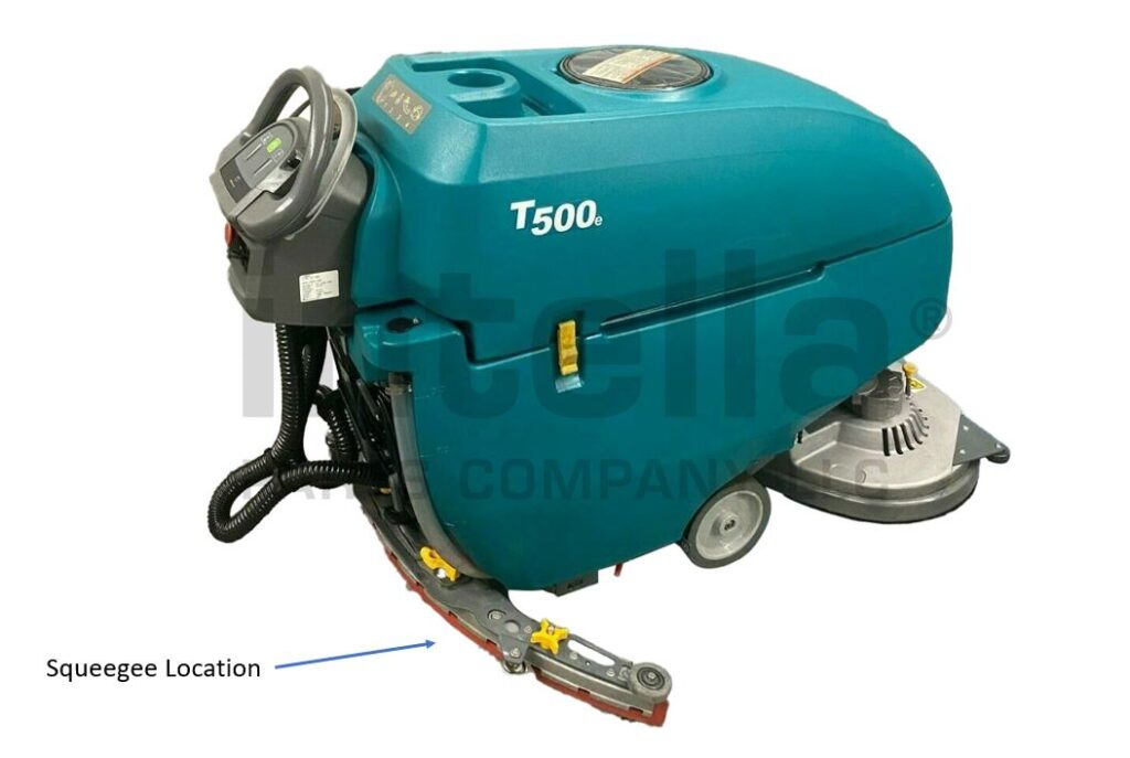 Tennant T500 Squeegee Location