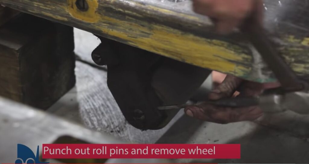 replace load wheel