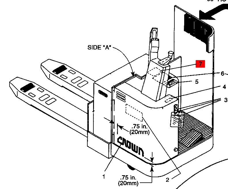 Forklift Schematic Diagram