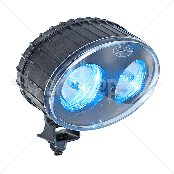 INTELLA 88801291248 Blue Spot LED Safety Light 12-48V