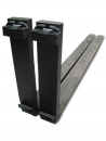 1.75 X 5 X 48 PAIR forklift forks CLASS 3